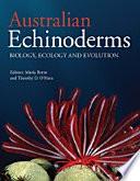 Australian Echinoderms Book