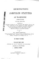 Remington s Compiled Statutes of Washington Annotated  cite Rem  Comp  Stat