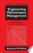 Engineering Maintenance Management  Second Edition