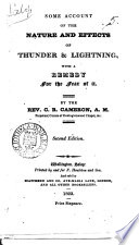 Some account of the nature and effects of thunder & lightning, with a remedy for the fear of it Pdf/ePub eBook
