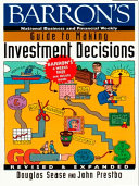 Barron's Guide to Making Investment Decisions