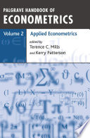 Palgrave Handbook Of Econometrics Book PDF