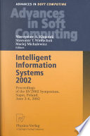 Intelligent Information Systems 2002 Book
