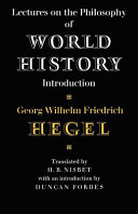 Lectures on the Philosophy of World History