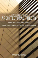An Introduction To Architectural Theory PDF