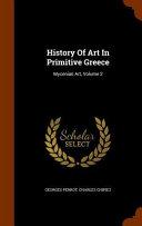 History of Art in Primitive Greece