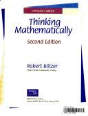 Thinking Mathematically I E Sup