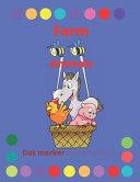 Farm Animals Dot Marker Coloring Book