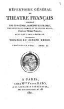Répertoire général du Théâtre français: Comédies en verse, I-XVII, t.52-65, Comédies en prose, I-XIV