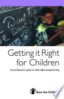 Getting It Right For Children Book PDF