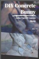 DIY Concrete Bunny
