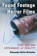 Pdf Found Footage Horror Films