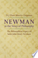Newman in the Story of Philosophy