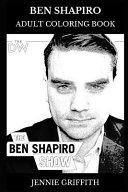 Ben Shapiro Adult Coloring Book