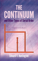 The Continuum and Other Types of Serial Order