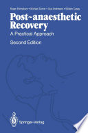Post Anaesthetic Recovery Book PDF