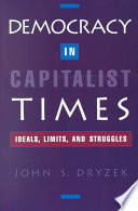 Democracy in Capitalist Times