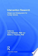 Intervention Research Book