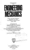 Proceedings of the ASCE EMD Specialty Conference on Mechanics in Engineering