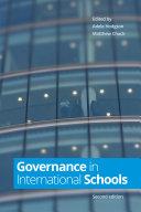 Governance in International Schools