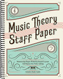 Music Theory Staff Paper