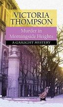 Murder in Morningside Heights Book