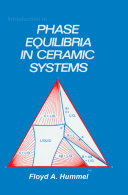 Introduction to Phase Equilibria in Ceramic Systems Pdf/ePub eBook