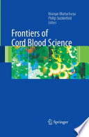 Frontiers Of Cord Blood Science Book PDF