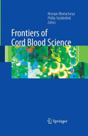 Pdf Frontiers of Cord Blood Science