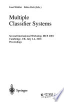Multiple Classifier Systems