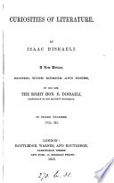 The works of Isaac Disraeli (ed. by B. Disraeli).