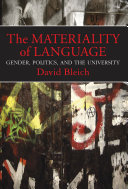 The Materiality of Language