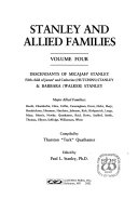 Stanley and Allied Families: Descendants of Micajah Stanley ...
