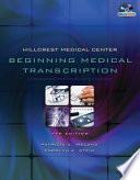 Hillcrest Medical Center Beginning Medical Transcription