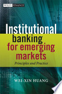 Institutional Banking for Emerging Markets Book