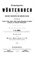 Technologisches Wörterbuch der deutschen, französischen und englischen Sprache