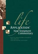 Life Application New Testament Commentary Pdf/ePub eBook