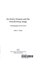 Six Poetry Formats and the Transforming Image: A Monograph on Free