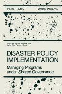 Disaster Policy Implementation Pdf/ePub eBook