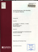In-field Monitoring of the Durability of Composite Materials