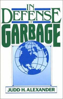 In Defense of Garbage Book