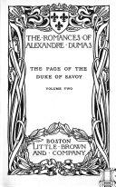 The Romances of Alexandre Dumas: Olympe de Clèves