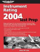 Instrument Rating Test Prep 2004