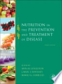 Nutrition in the Prevention and Treatment of Disease Book