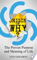 Origin of Why  Book PDF