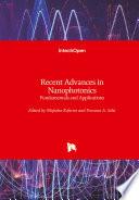 Recent Advances in Nanophotonics Book