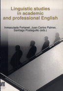 Linguistic Studies in Academic and Professional English