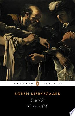 Book cover of 'Either/Or' by Soren Kierkegaard