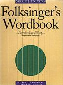 Folksinger s Wordbook Book