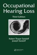 Occupational Hearing Loss, Third Edition Pdf/ePub eBook